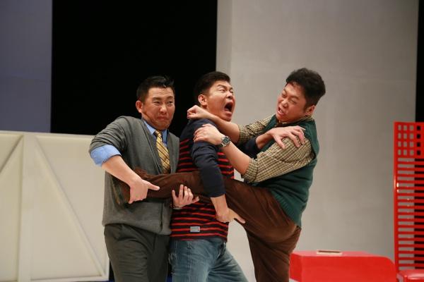 曾國城、屈中恆、卜學亮 引爆中年危機 舞台上30年友情撕破臉!