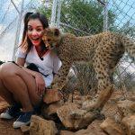 莎莎納米比亞圓夢 「獵豹也愛我」激動淚崩