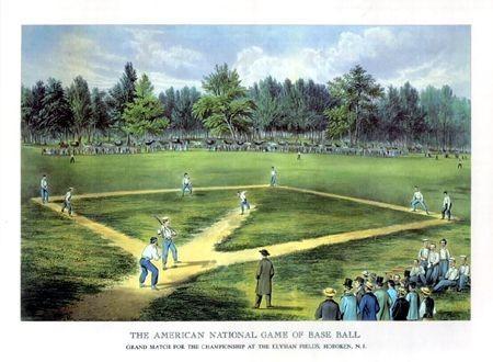 現代棒球誕生處