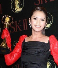 楊丞琳以《海派甜心》榮登45屆金鐘獎影后