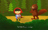 娃娃也幫忙宣傳–大紅帽與小野狼?!