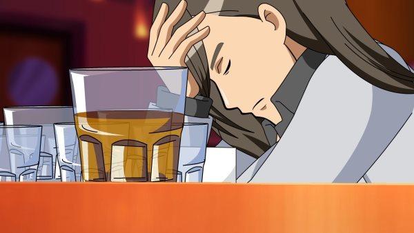 都是酒精惹的禍