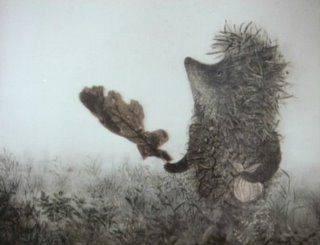 霧中的刺蝟