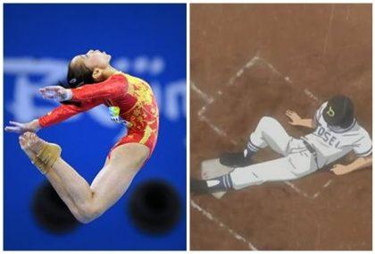 小桃看棒球/超爆笑滑壘特蒐!打球也要會體操?