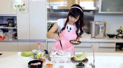 美魔女廚房(五) 瘦身蒟蒻菇菇飯+和風鯛魚豆腐