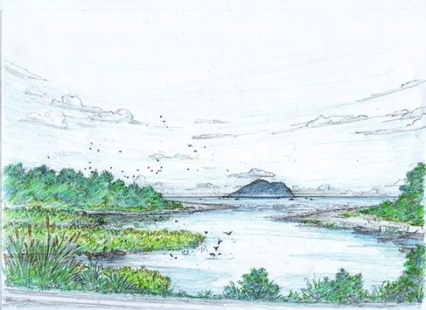 童年的海角 竹安河口