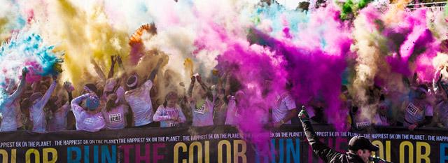 ☆週五輕鬆遊:最色的color run VS最勾芡的路跑