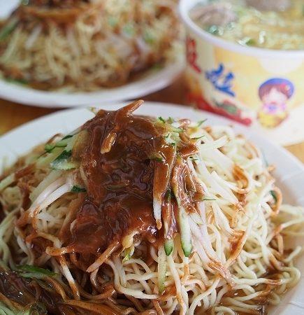 *週三來吃喝:[台北] 松隆路空軍涼麵 CP值爆表