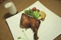 元氣早餐4  烤雞腿