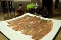 元氣早餐9  香煎牛小排、干貝佐生菜,洋蔥湯,起司蘇打餅乾。