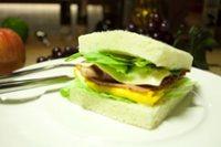 元氣早餐10   總匯三明治+洋蔥湯