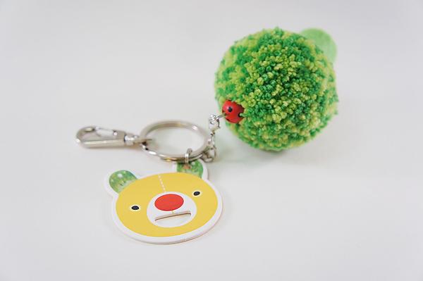熱銷商品/把劉以豪帶著走 花椰菜鑰匙圈好療癒