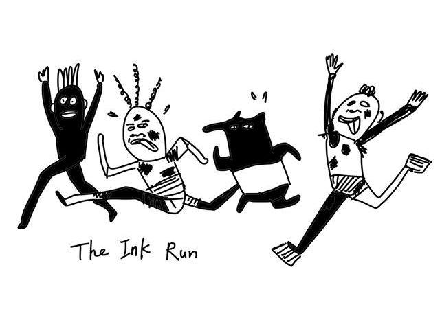 為什麼你沒去color run?