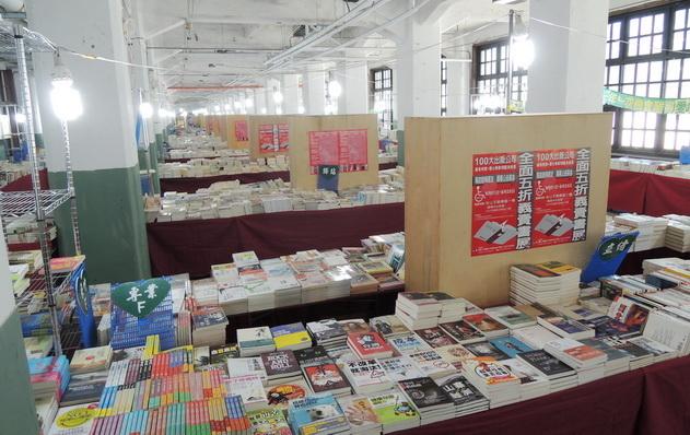 100家出版社10萬本書 五折俗俗賣