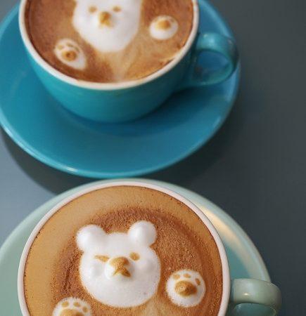 *週三來吃喝:[台中] 52 cafe 咖啡 @ 3D 立體小熊拉花