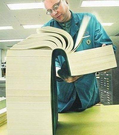 世界上最厚的書! 將近百公分 揭開神秘女人心