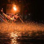 海上花火─磺火捕魚