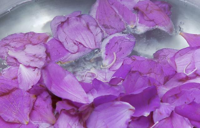 用花瓣就能簡易測試酸鹼度