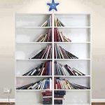 耶誕樹?耶誕「書」? 為聖誕節加點創意