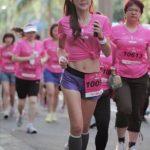 大陸有最美馬拉松女孩 台灣有美魔女張婷媗啦!