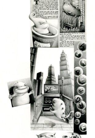 New York City系列:newspaper
