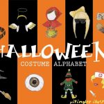 Halloween costume alphabet!