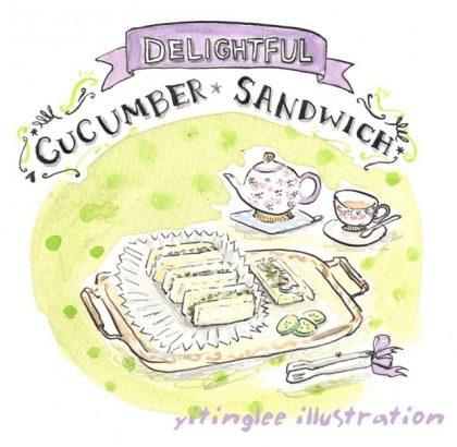 小黃瓜三明治