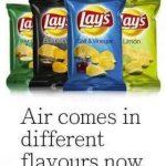 打開只有三小洋芋片 可惡Lay's是在賣空氣嗎?