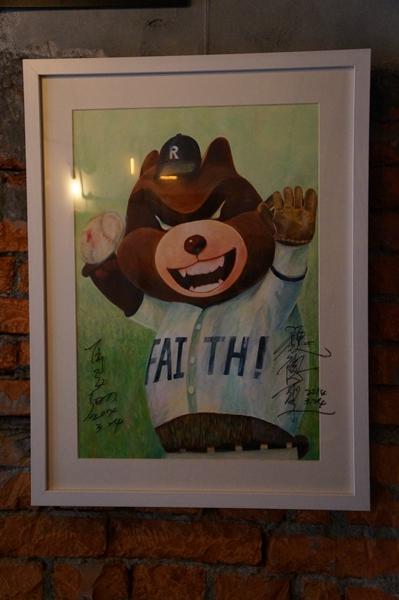 馬導:這隻熊很驕傲喔! 因為他有KANO精神啊