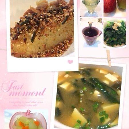 美魔女早餐/干貝雞汁蒸瓜~好營養啊!