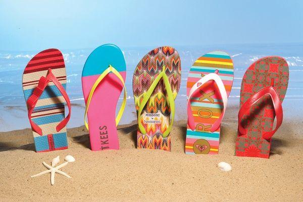★五趾大解放★夏天就是要穿人字拖~時尚與趣味的STYLE