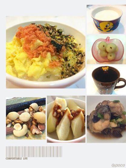美魔女早餐/綜合堅果海苔捲讓人流口水