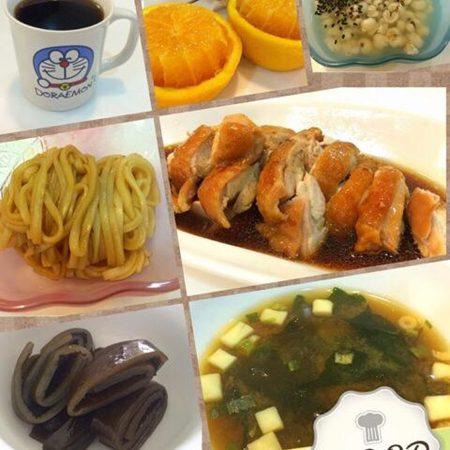 美魔女早餐/雞汁拌麵美味又營養~