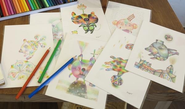 讓想像力灑上繽紛色彩 Roger色鉛筆教室好好玩