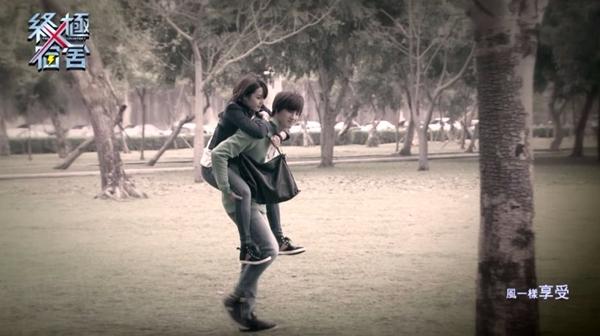 粉絲秀秀!寒找幸運草受傷,蒼芎背她的公園在……