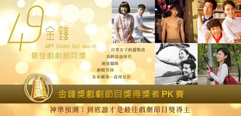 HOT PK/神準預測!!!★到底誰是金鐘獎贏家PK★