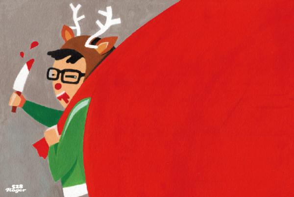 聖誕節不遠啦! 你不能錯過的聖誕謎插畫系列~