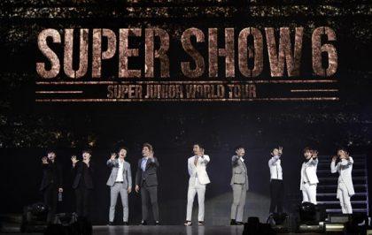Super Junior Super Show6北京站凸槌也嗨翻