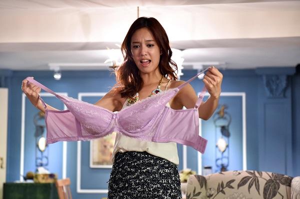 化身內衣大盜 陳庭妮超大內衣「罩」頂