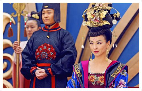 《武媚娘傳奇》──張庭飾演韋貴妃
