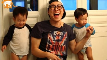 韓版《我的超人爸爸》 一周年回顧特輯 三胞胎、秋小愛童心純潔吸睛