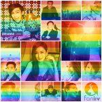 愛無國界彩虹大洗板  臉書大頭貼一鍵變成彩虹旗