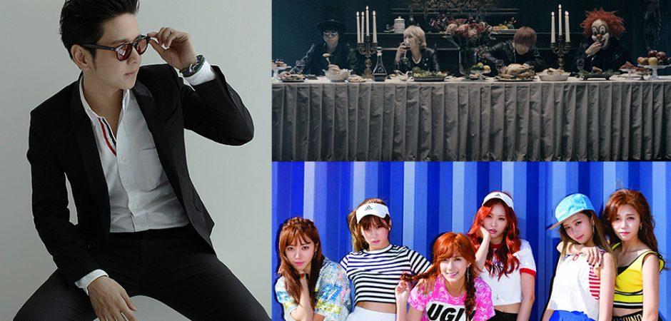 KKBOX風雲榜集結日韓泰夯團 Apink、世界末日、TOR+強勢攻蛋!