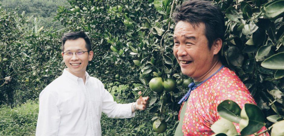 【小農故事】搖滾農夫林威佑─灌溉橘子,灌溉人生