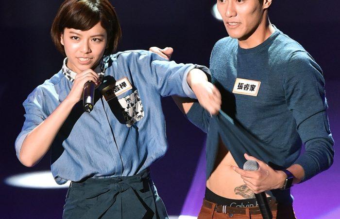 宋芸樺挑戰Jolin「我呸」 張睿家戴起假髮瘋狂演唱「自然醒」現場嚇傻所有人