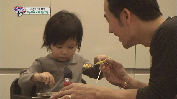 女兒智蘊模仿父親做菜 竟讓嚴泰雄感慨落淚