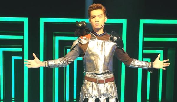 辰亦儒首任「藍月護法」 象徵尊貴智慧