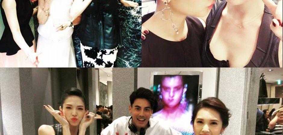 楊丞琳、許瑋甯時尚秀自拍 一秒成為「醉後決定愛上你」同學會
