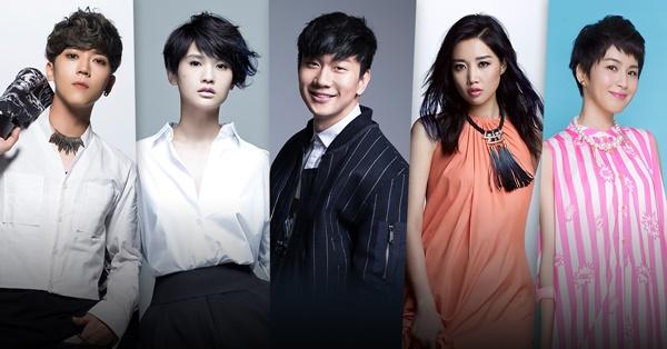 KKBOX風雲榜重量級天王天后精彩演出 請鎖定Fanily獨家線上圖文轉播!