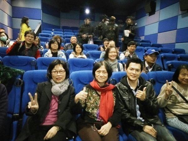 電影百味人生 李翔和導演黃玉珊新竹謝票